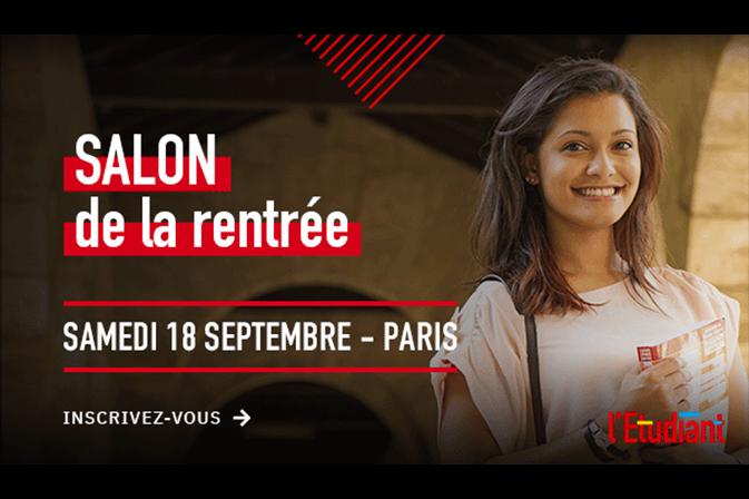Salon de la rentrée à Paris le 18 septembre